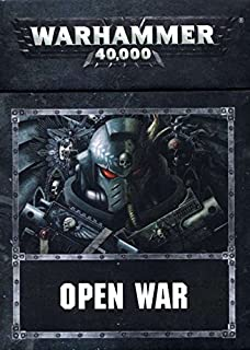 GAMES WORKSHOP 60220199011 Warhammer 40000 Open War Cards
