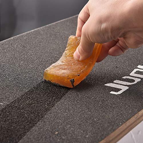 HBHHYRT Skateboard Eraser Grip Tape CAILER Cleaner GOMAJE, Discos ANDING Scooter Accesorios Limpios para El Monopatín De Limpieza, Papel De Lija,10Pcs