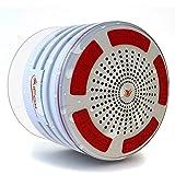 Waterproof Bluetooth Speaker & Shower Radio (White)