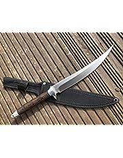 Perkin FB902A - Cuchillo de Caza con Funda (Hoja Fija)