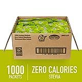 PURE VIA Stevia Sweetener Packets, Sugar Substitute, Natural Sweetener, Zero Calorie Natural Sweetener