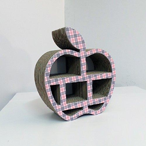 Hergestellt aus Karton-Papier-Objekte, die Port-Apfel förmige.