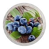 Poignées de Tiroir pour armoire,tiroir,coffre,commode,etc.. Blueberry...