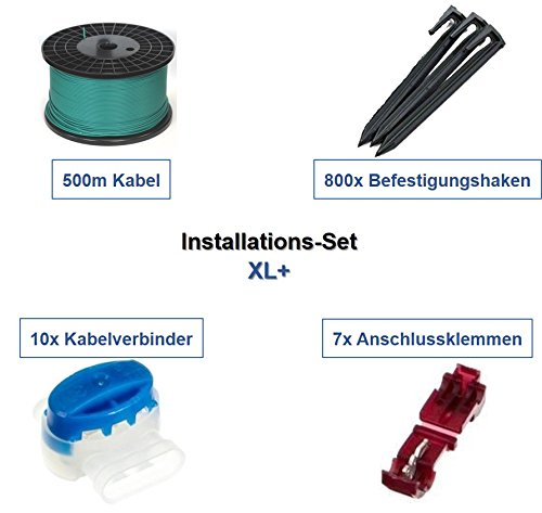genisys Installation Set XL+ Husqvarna Automower 2** G2 Kabel Haken Verbinder Paket Kit