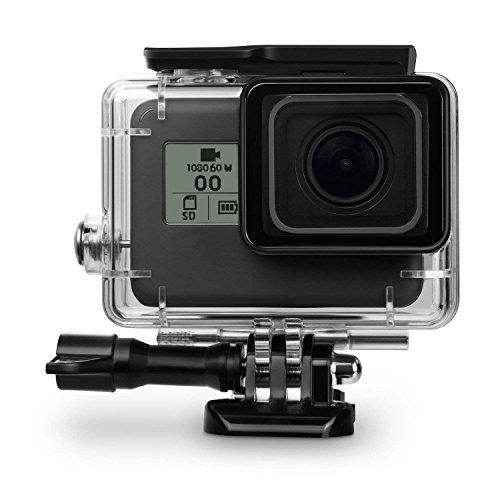 TUYUNG 45M Underwater Waterproof Diving Housing Case Protective Cover for GoPro Hero 7 Black, Hero 6, Hero 5 Black, Hero HD (2018) Action Camera