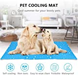 <span class='highlight'><span class='highlight'>Aoweika</span></span> Dog Cooling Mat, Anti-inflammatory, Pressure Activated, Non-Toxic Gel Pet Dog Cool Mat Self Cooling, Help Your Dog Stay Cool and Prevent Dehydration in Hot Summer (50 x 90 cm)