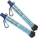 DeFe Filtre Eau Personnel 2000L Système de Filtration d'eau Élimine 99,9% des Bactéries Filtre à...