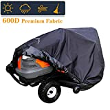 Himal Pro Lawn Mower Cover - Heavy Duty 600D Polyester Oxford, Waterproof, UV Resistant, Universal...