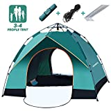 Best 4 Person Tents - MIABOO Camping Tent, 3-4 Person Family Beach Tent Review