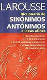 Diccionario de sinnimos, antnimos, e ideas afines (Spanish Edition) by Unknown(2002-08-01)