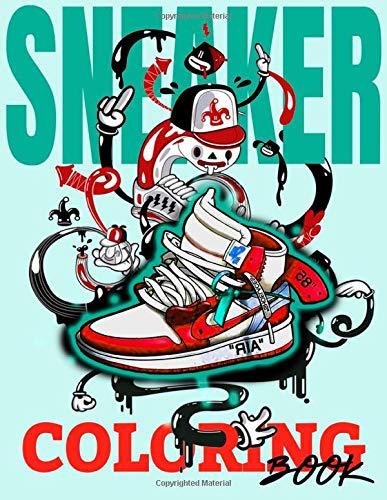 Sneaker Coloring Book: Sneakerhead Coloring Books
