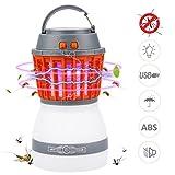 Campinglampe UV Licht Insektenvernichter Mückenkiller Bawoo Camping Lantern IP67 wasserdicht tragbar Mückenvernichter Zeltlampe USB Wiederaufladbar für Innen und Außen