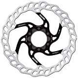 GALFER Bike MTB Disc Wave Center-Lock Ø160MM, Adultos Unisex, Negro, ESTANDAR