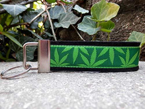 Schlüsselanhänger Taschenanhänger Wollfilz schwarz Hanf hellgrün dunkelgrün Geschenk!