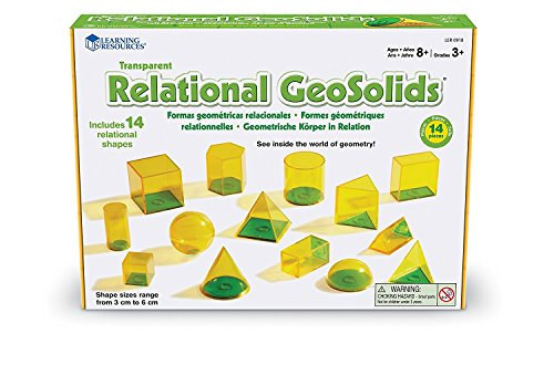 Learning Resources Relational Geometric Solids