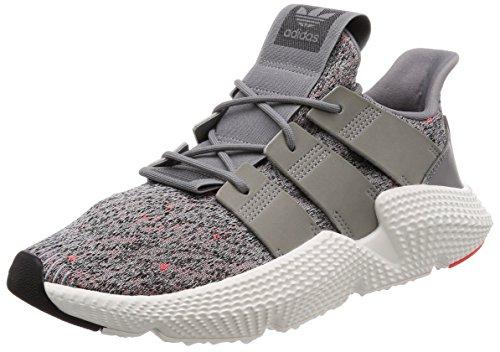 Adidas Prophere, Zapatillas de Deporte para Hombre, Gris (Gritre/Ftwbla/Rojsol 000), 43 1/3 EU