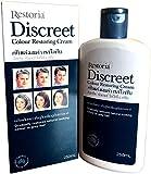 Restoria Discreet 250ml   Crème Colorante Restaure La Couleur Naturelle Des Cheveux Gris   Convient Pour Homme Et Femmes
