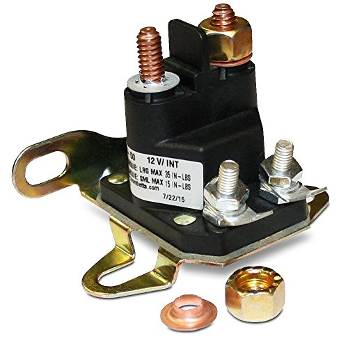 Trombetta 12 Volt Plastic DC Contactor Part No. 892-1251-210