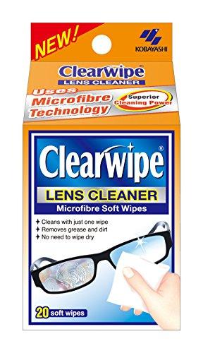 Duidelijke doekjes Lens Cleaners Zwaartekracht Pack - 5 x 20-Pack