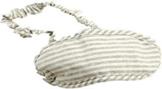 Japanese-style Stripe Travel Cotton Breathable Knitted Goggles A4