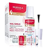 Mavala Nail Shield Tramiento Fortalecedor de Uñas y Escudo Protector | Lote Kit de Manicura Base...