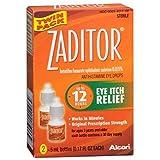 Best Eye Drops - Zaditor Antihistamine Eye Drops Twin Pack 0.34 Fl Review