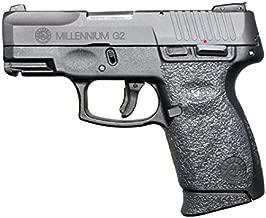 GripOn Textured Rubber Grip Wrap for Taurus Millennium G2 PT111 G2 / PT140 G2 (Black)
