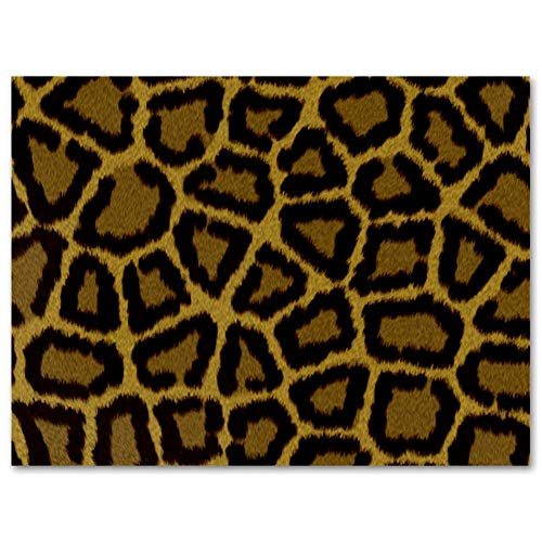 MEITD Leinwanddruck, Leopardenmuster, rahmenlos, Ölgemälde, Bild auf Leinwand, Wandkunst, fertig zum Aufhängen, für Schlafzimmer, Küche, Heimdekoration