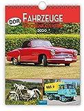 Wochenkalender ' DDR-Fahrzeuge' 2020: 19 x 25 cm, mit Bildern von Ralf-Christian Kunkel