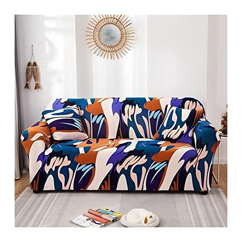 OYZK Sofa-Abdeckung All-Wrapped-Couch-Cover-elastische Stretch-Sofa-Cover für Eckprofilsofa (Color : 21, Specification : 2 Seater 145 185cm)