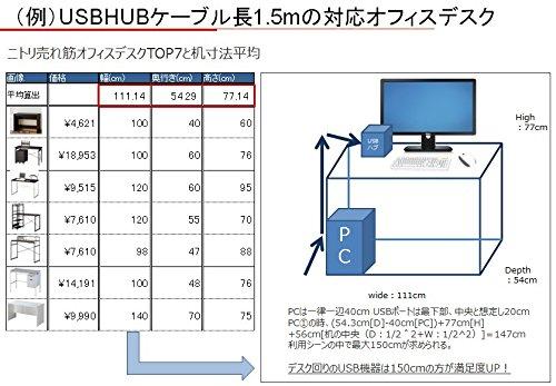 Buffalo(バッファロー)『4ポートセルフパワーハブ(BSH4A11BK)』