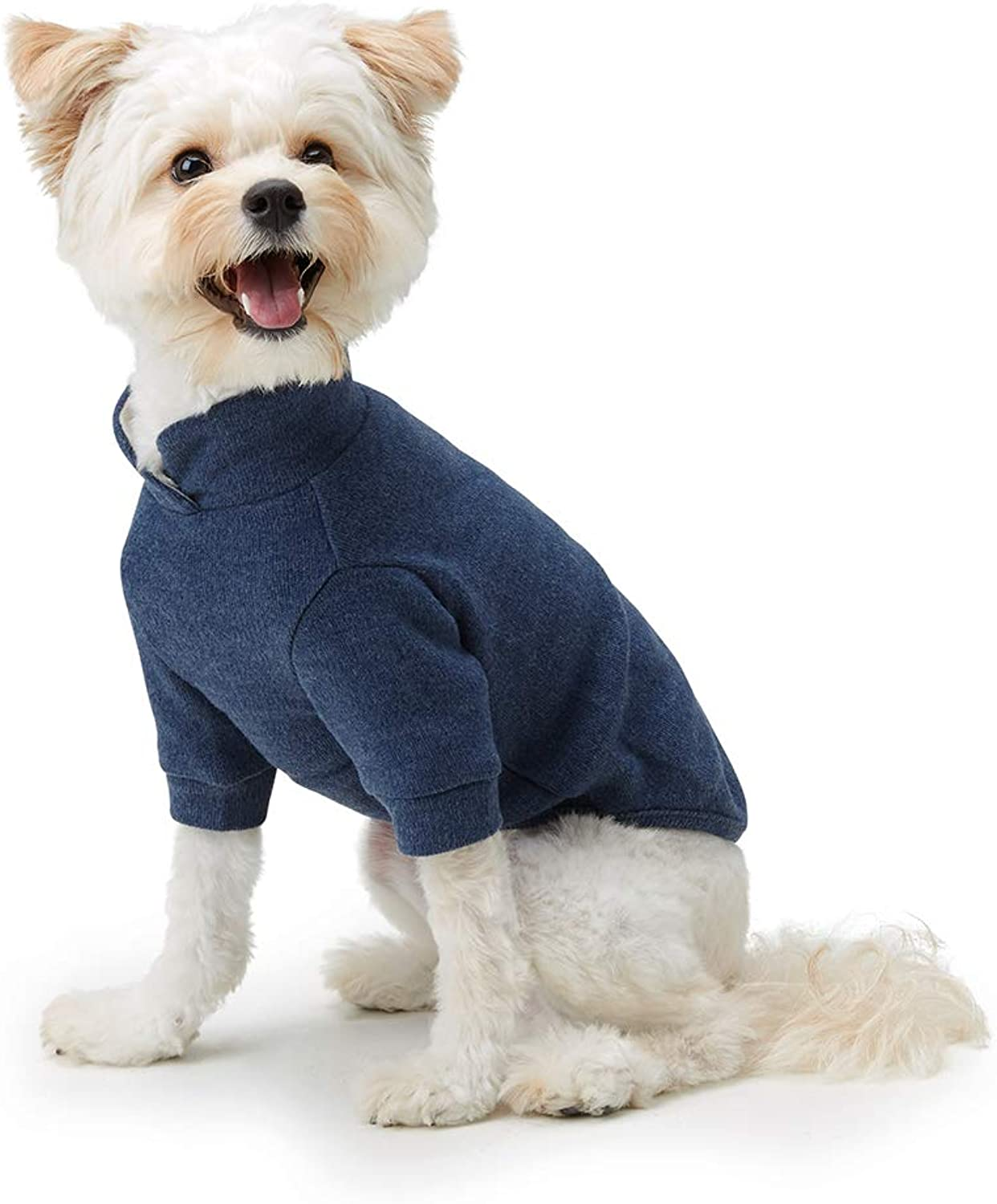 My Fluffy Dog Apparel Two Tone Shirts for Dog (XXLarge, Navy)
