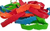 Playscene 'Super Hero Rubber Bracelets' for Children (48)