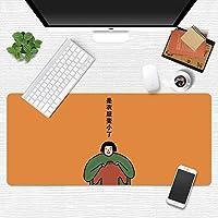 活力少女マウスパッド超ビッグ漫画かわいいライティングクリエイティブガールハートリトルフェアリー日本小さな新鮮なテーブルマット (A19,300*800mm)
