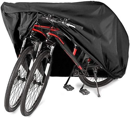 AngLink Funda Bicicleta, 210D Oxford 200 x 110 x 70 cm Cubierta Impermeable de Bicicleta Funda Protectora Bici contra Lluvia, Agua, Polvo y Rayos Ultravioleta
