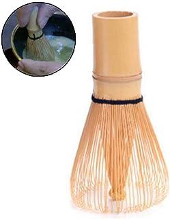 advancethy Fouet Th/é Bambou Chasen Traditionnel Matcha Th/é Vert Poudre Whisker Set Th/é Fouet Scoop Cuill/ère /À Th/é Profond Porte Fouet Cadeau Id/éal pour Les Amoureux du Th/é Vert