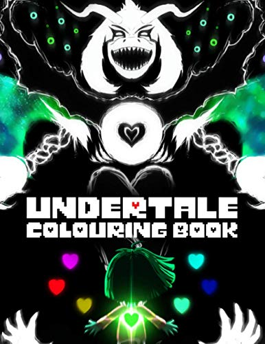 Undertale Colouring Book: Easy And Relaxing Undertale Colouring Book To Create Beautiful Art And Have Fun