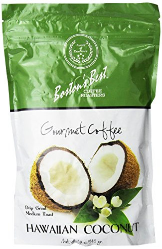 Boston's Best Gourmet Coffee HAWAIIAN COCONUT 12 oz