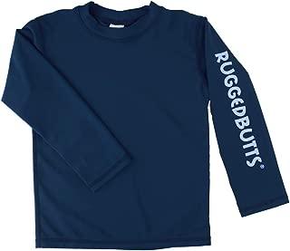 Baby/Toddler Boys Long Sleeve Rash Guard Swim Shirt w/UPF 50+