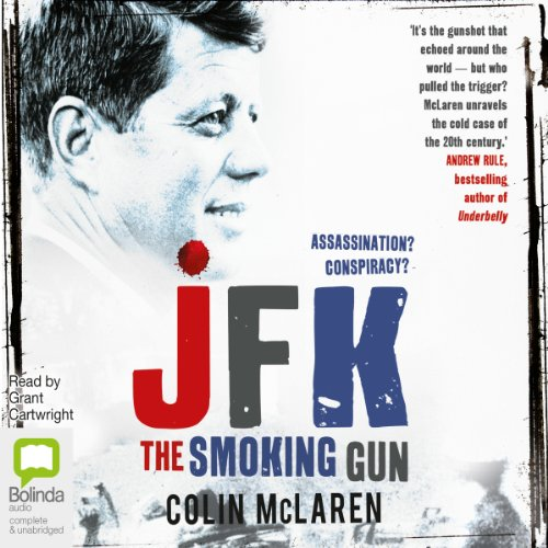 JFK: The Smoking Gun audiobook cover art