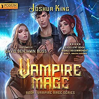 Vampire Mage, Book 1 audiobook cover art