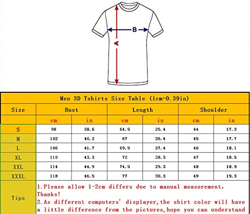Men Casual Tshirts Creative Horse Unicorn 3D Graphic Printed Unisex Animal Pattern Graphic Tees Tops 3XL 5