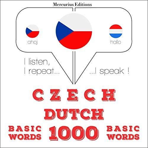 Czech - Dutch. 1000 basic words cover art
