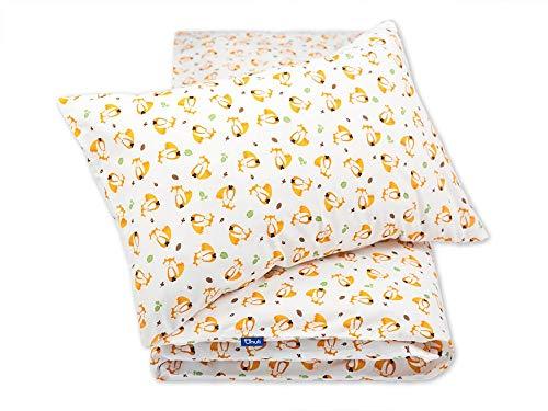 Pepi Leti 685843715658 - Juego de cama infantil, diseño de zorros, multicolor