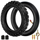FVRITO 2.50X10 Knobby Tyre 2.50-10 Tire And Inner Tube for XR50 CRF50...