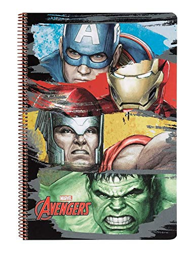 Marvel Avengers - Block, Notizbuch, DIN A4