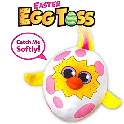 Move2Play Easter Egg Toss Toy, The Easter Gift for Girls, Toddlers, and Kids That Will Crack You Up