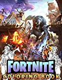 Fortnite Coloring Book: 106 Coloring Pages Of Characters, Weapons, Creatures And Others For Kids, Boys And Girls, Teens, Grownups