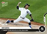 2020 Topps Now Baseball #179 Deivi Garcia Pre-Rookie Card - Gives Up No Runs in MLB Debut - Only 2,034 made!