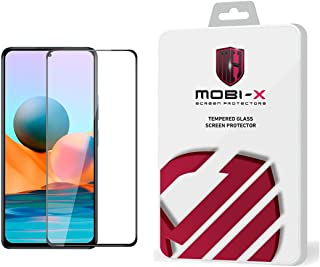 واقي الشاشة الكامل ريدمي نوت 10 5g 5D إطار أسود - من Mobi X